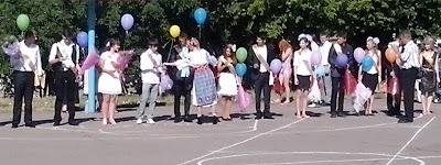 Останні дзвоники у школах міста Миколаєва.