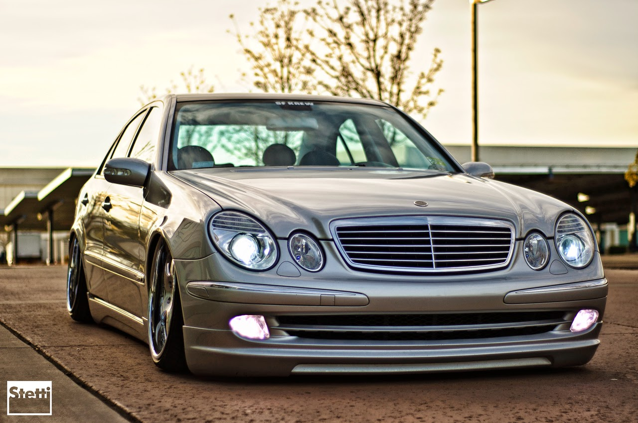 Mercedes benz w211 stance style wald bodykit benztuning for Mercedes benz tuner