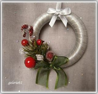 wianek bożonarodzeniowy, ozdobny
