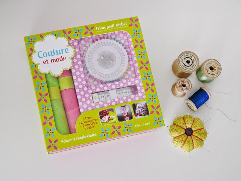 Kit couture Marie-Claire et pique épingle fleur