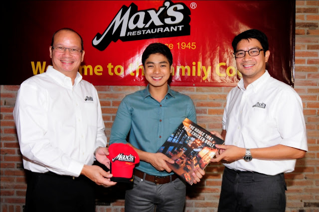 Coco Martin is Max's Restaurant New Brand Ambassador