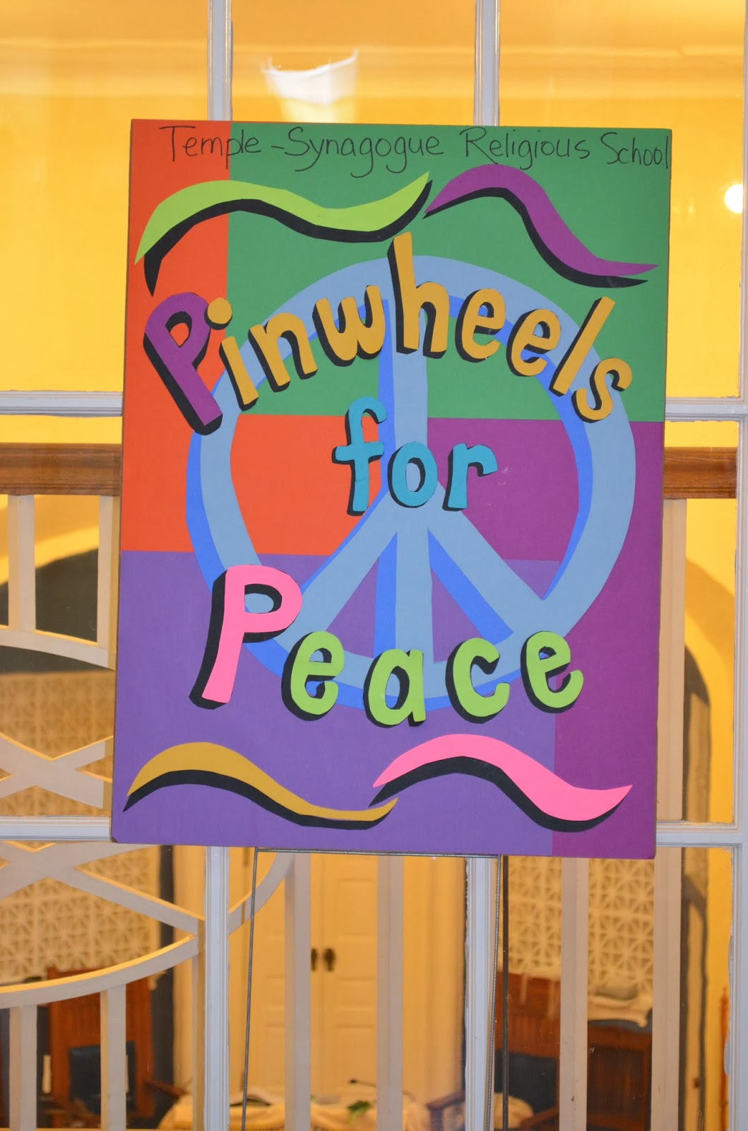 There\'s a Dragon in my Art Room: Pinwheels for Peace, a belated post