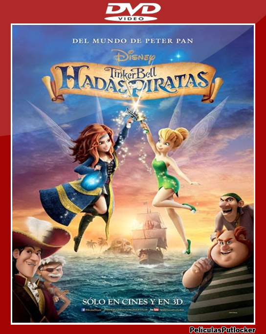 Descargar Tinkerbell: Hadas y Piratas [DVDRip][Latino][SD-MG ...