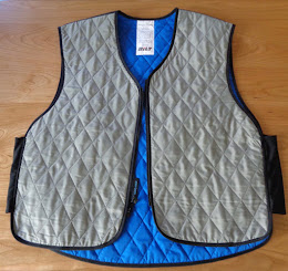 Riding with a Cooling Vest