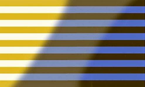 El misterio del vestido azul o dorado