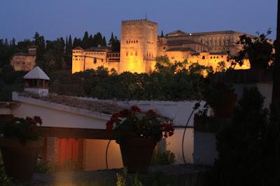Nasrid Palace of La Alhambra from Albaicin