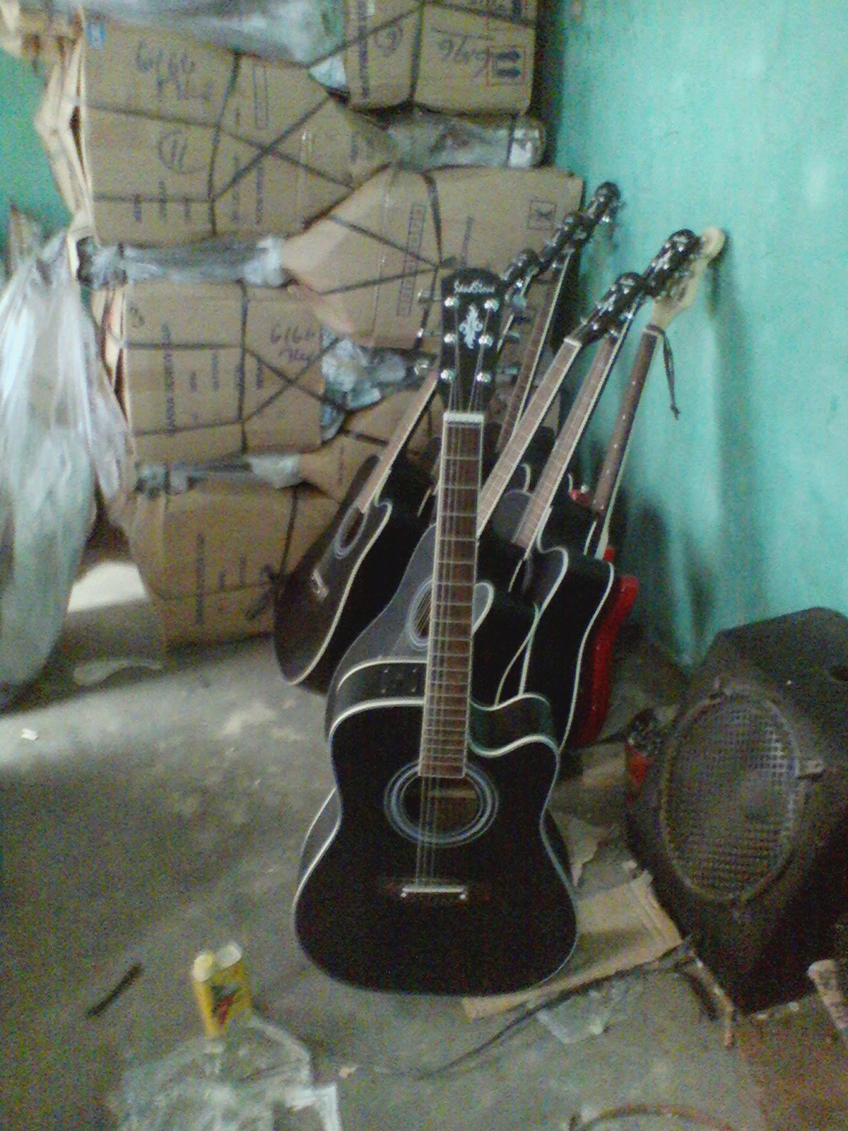 Gitar Akustik Jumbo Inlay Light Gitar Akustik Dan