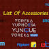 YU Yureka, Yuphoria, Yunique, Yureka Plus Accessories - Complete List