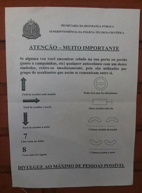 Polícia informa