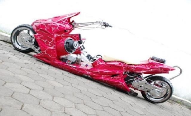50+ Gambar Modifikasi Motor Mio 2013