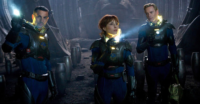 Prometheus - Holloway, Shaw e David