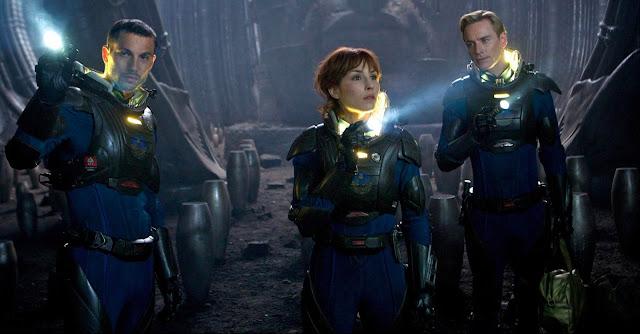 Prometheus - Holloway, Shaw e David
