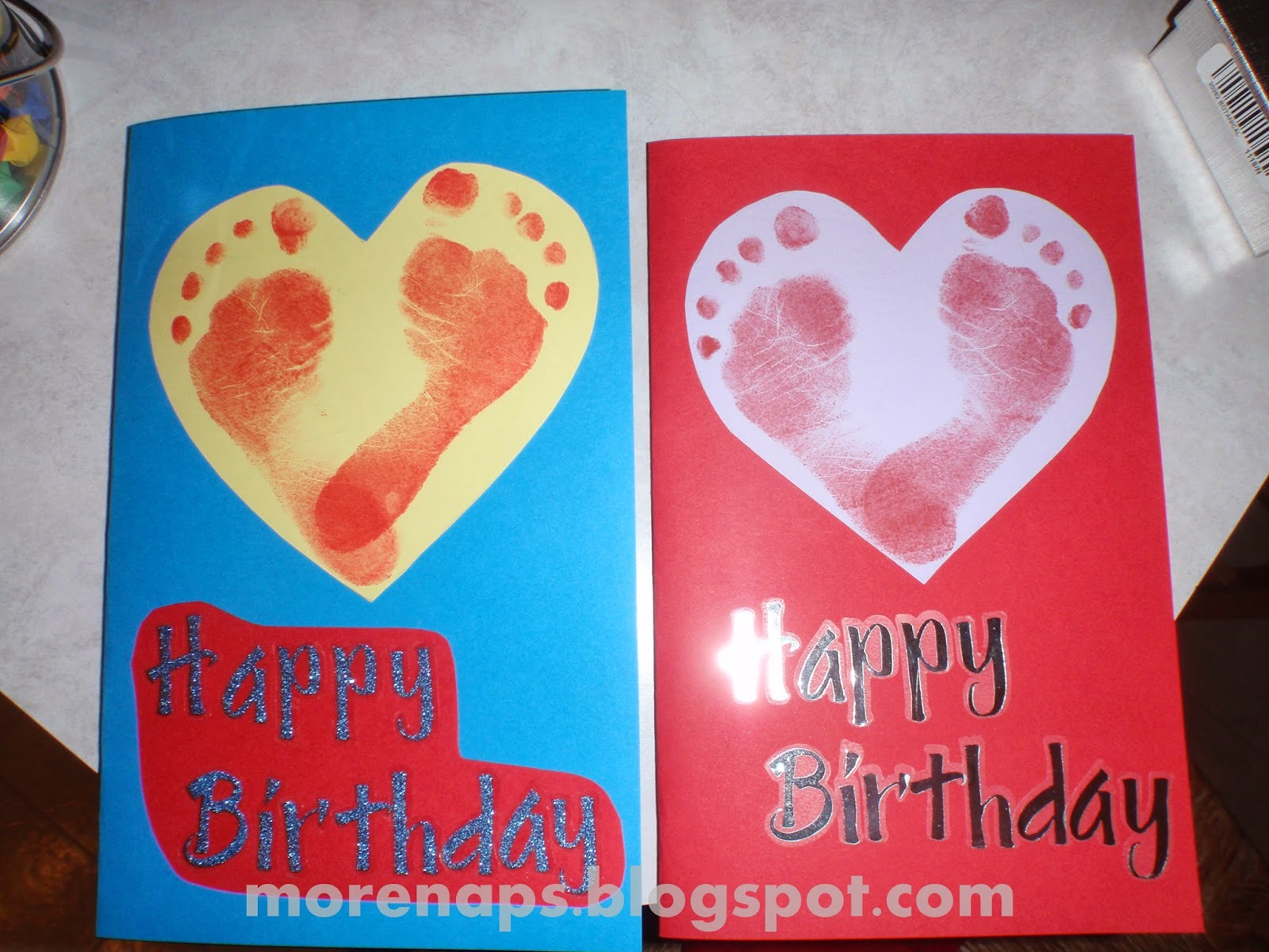 Homemade Birthday Cards For Mom From Kids