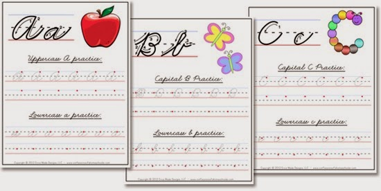 Cursive Handwriting Curriculum
