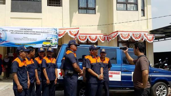 LPM Rancanumpang Launching Kendaraan Operasional Pelayanan Kesehatan Masyarakat