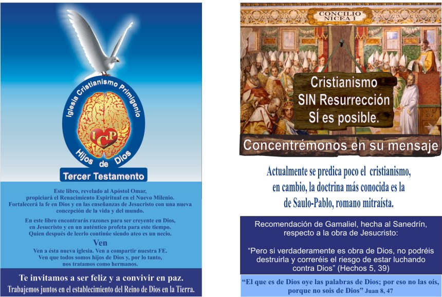 Escudo de la ICP y Tablilla crucifixión