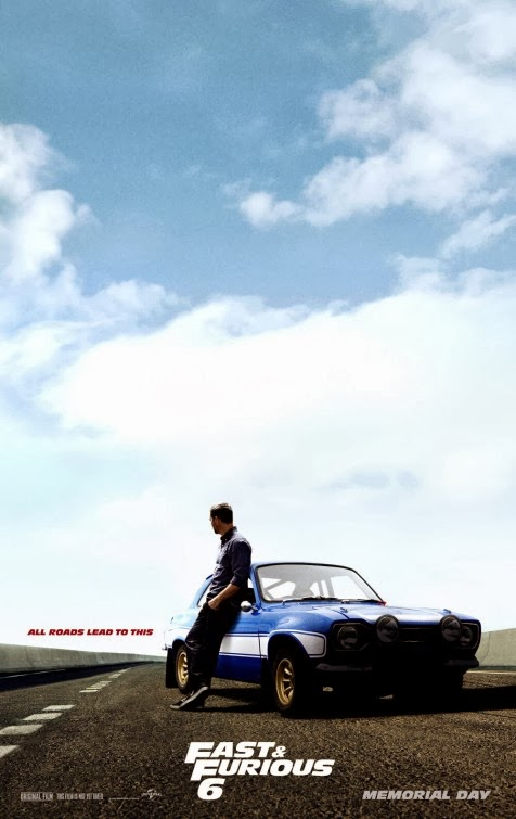 Fast Furious 6 movie poster