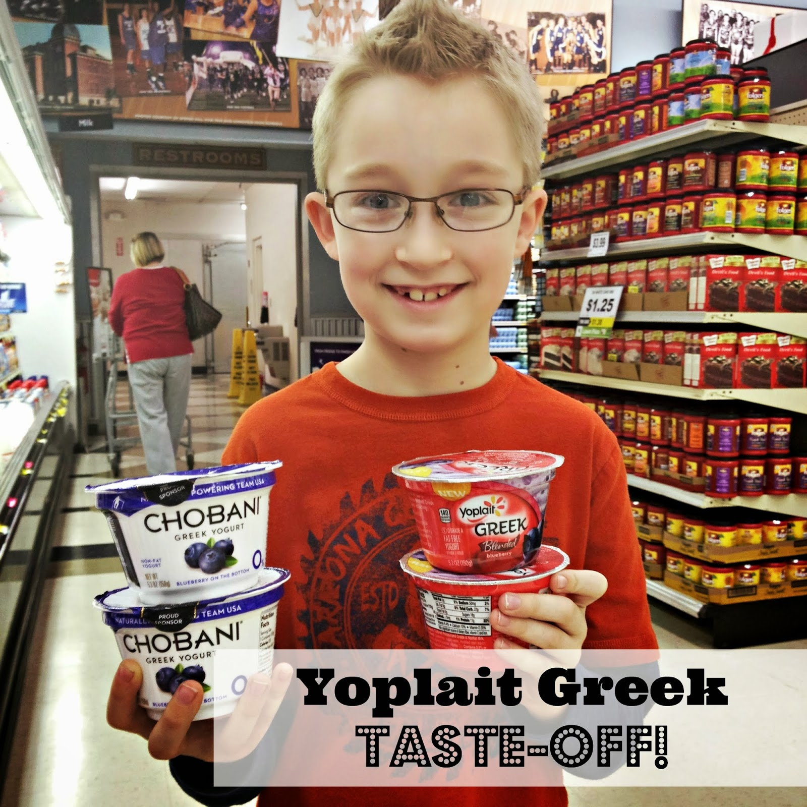 Yoplait Greek Taste-off #sponsored