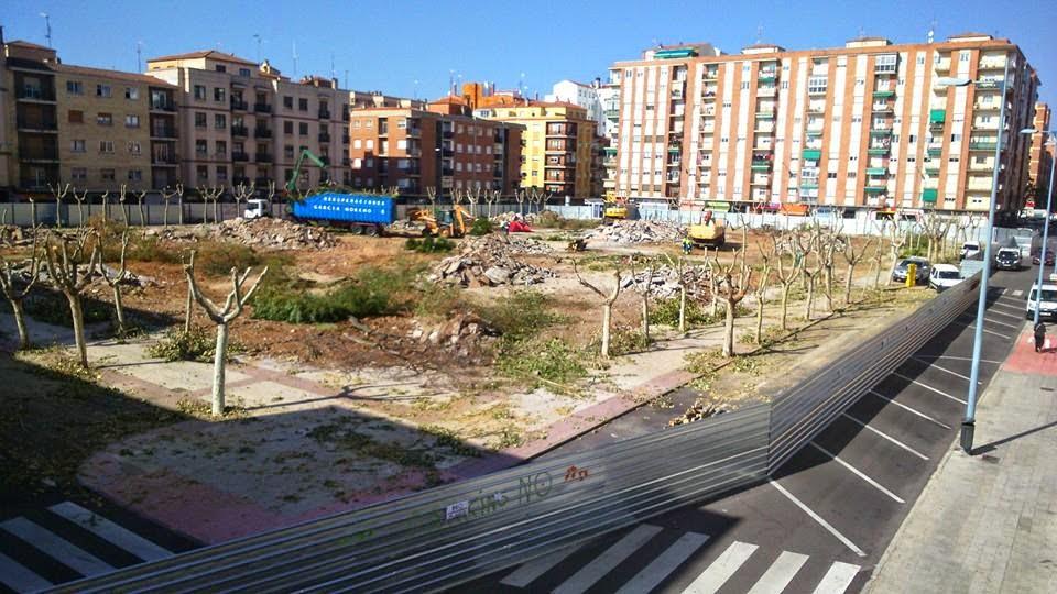 Las obras del parking de Garrido ya han comenzado