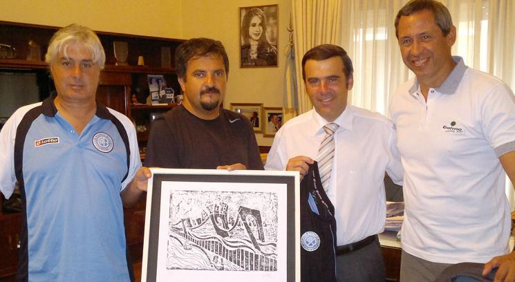 Belgrano de cordoba fue distinguido por el municipio de necochea