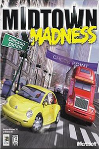 Midtown Madness 1 pc game-Cover