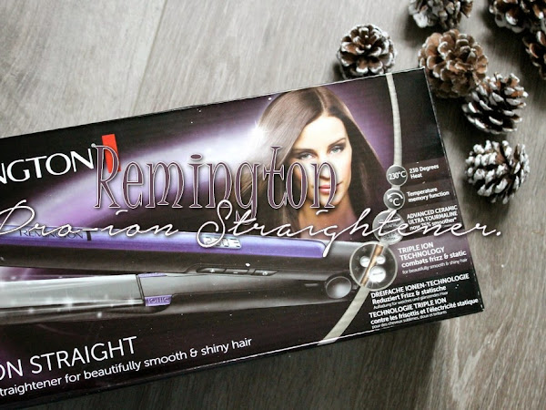 Remington Pro-Ion Straightener.