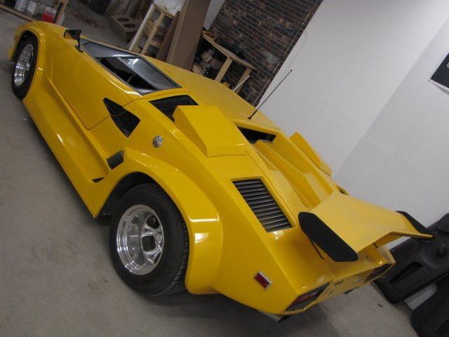 Top Auto Customization Clients Lamborghini Countach Custom Dash