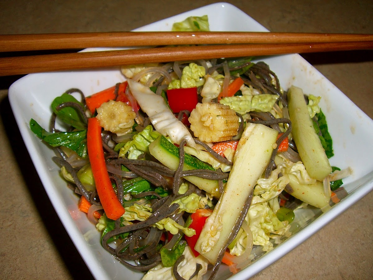 Inside-Out Egg Roll Salad