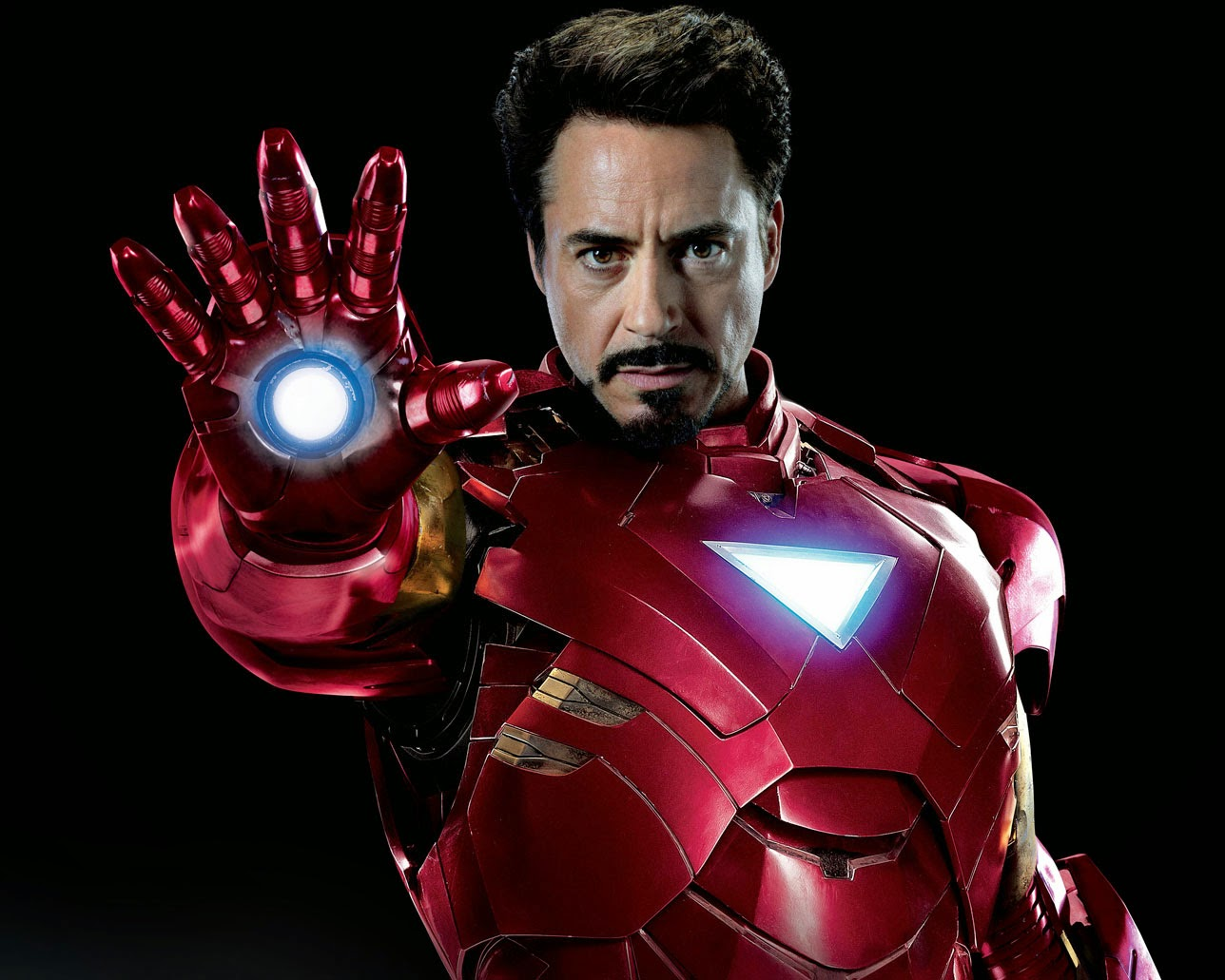 Tony Start as Iron Man