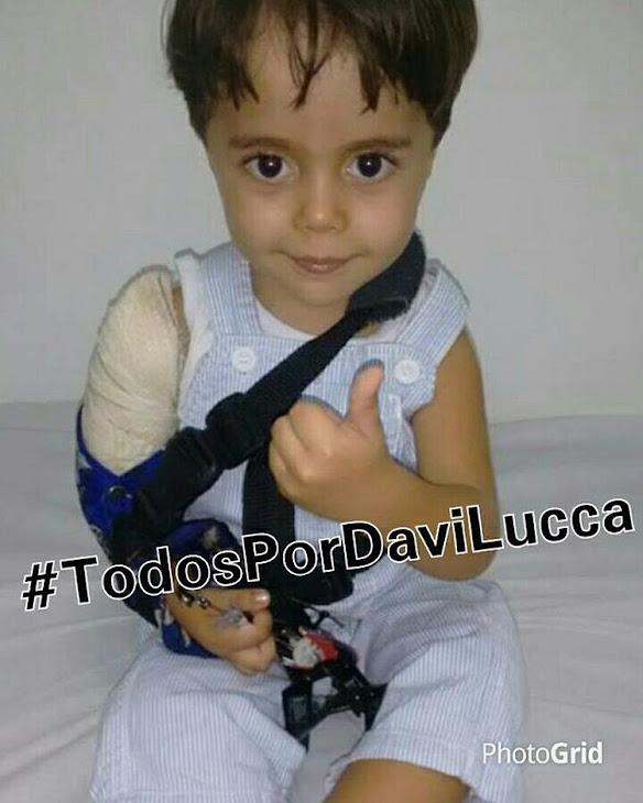 """Jackeliine Souza:""""Estou pedindo ajuda para meu sobrinho Davi Lucas que necessita de cirurgia!"""""""