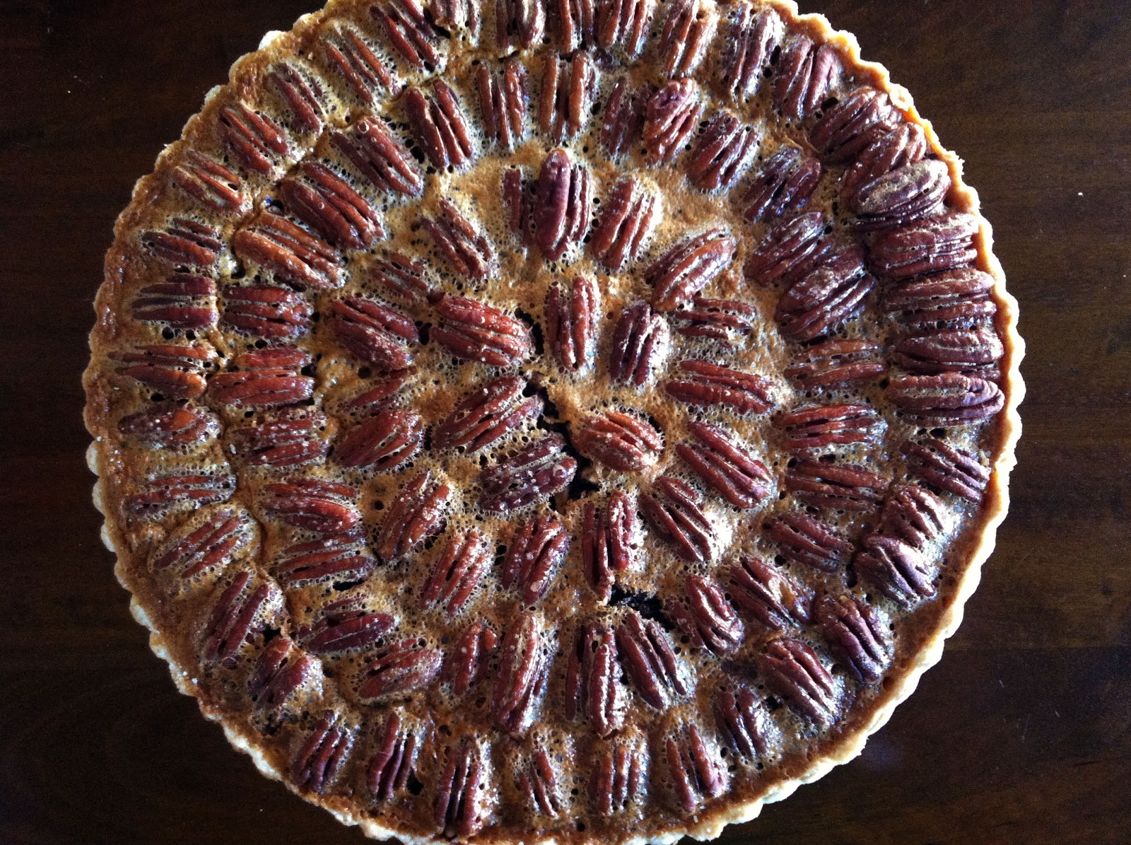 I'm Hungry: An Ode to Food: Chocolate Pecan Tart w ...