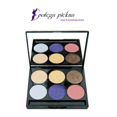Paleta cieni - Kosmetyki do makijażu firmy Glazel Visage