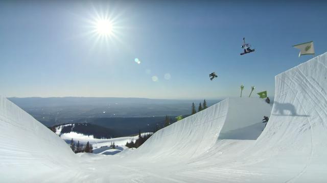 Peace Park 2015 | Epische Snowboardaktion dank Burton x Mtn Dew mit Danny Davis und seiner Crew