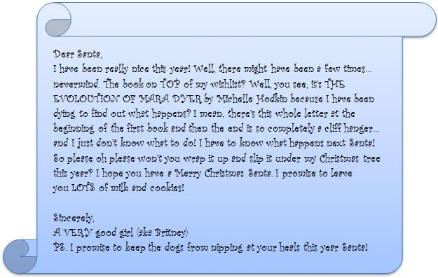 letter from santa for adult:
