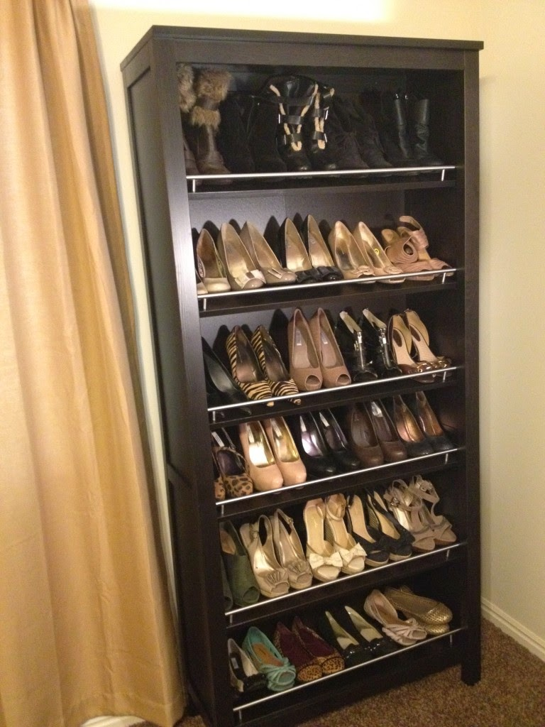 DIY Shoe Display | Home Improvement