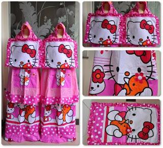 Mukena Bali Anak Hello Kitty