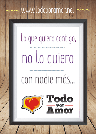 Pin cuadro de amor on pinterest for Cuadros de frases