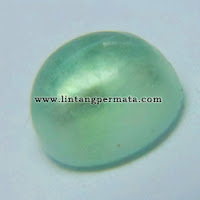 Batu Permata Natural Green Fluorite