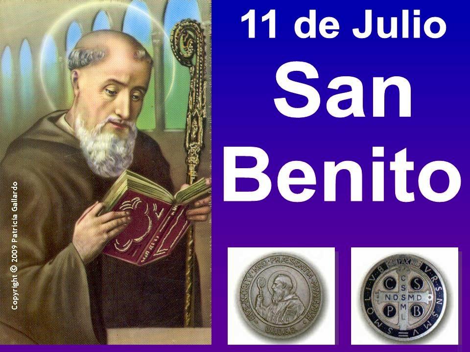 11 de julio: San Benito