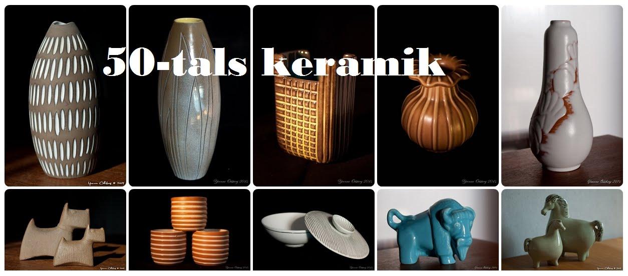 50-tals keramik