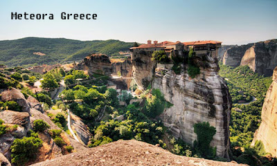 Tourist Place of Meteora Greece