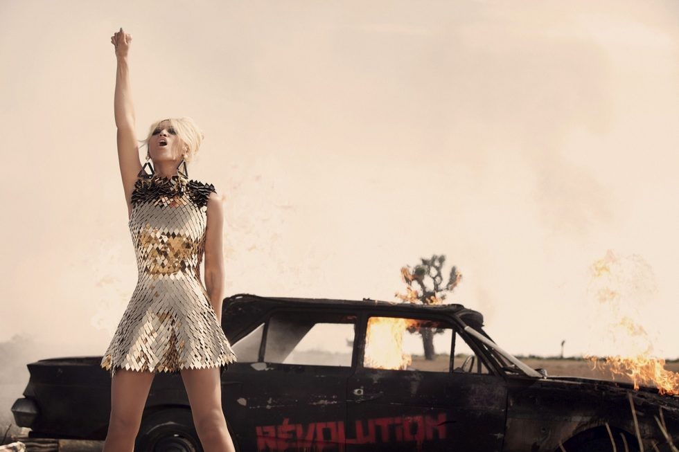beyonce run the world cover - photo #11