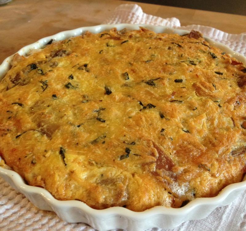 La cuisine claudine tarte au poulet et l 39 estragon ou - Cuisiner un poulet roti ...