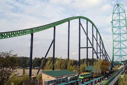 Zumanjaro Dinobatkan Jadi Roller Coaster Tertinggi di Dunia