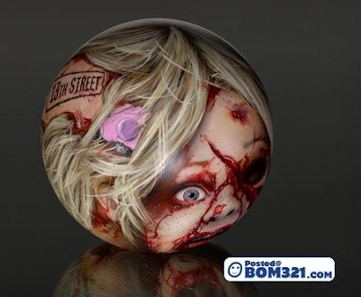 Bola Bowling Berkonsep Zombi