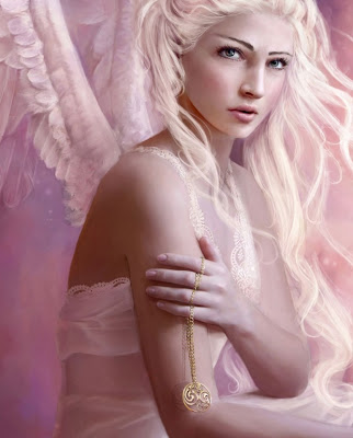 pink angel - anime