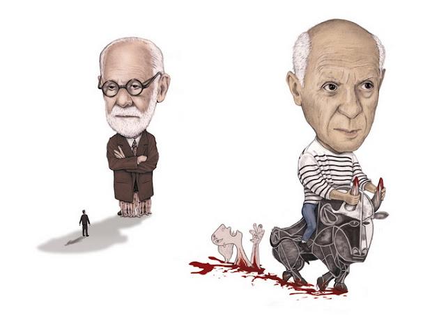 As inusitadas e criativas ilustrações de Matthias Seifarth