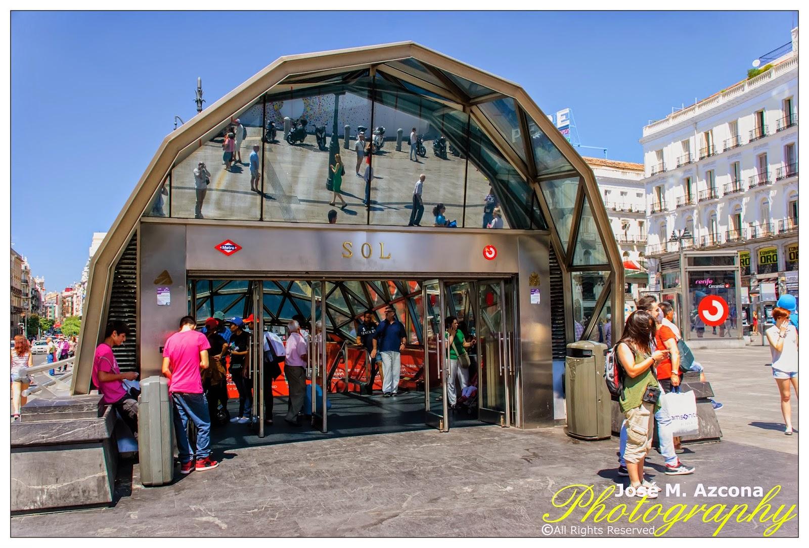 Estación de Metro Sol