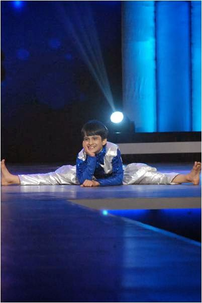 Hardik finishing with a cute move in DID L'il Masters Final Auditions