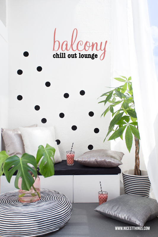Balcony Chill Out Lounge DIY